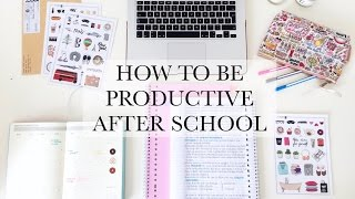 Download How To Be Productive After School - STUDY TIPS Video