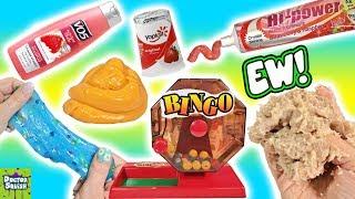 Download Slime Mixing Bingo! Crazy Homemade Slime Challenge! Strange Ingredients Slime Fails! Doctor Squish Video