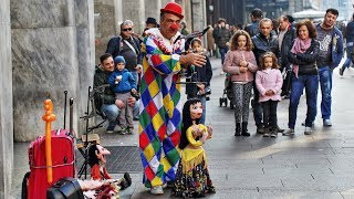 Download Top 10 Amazing Street Puppet Performers (2018) Video