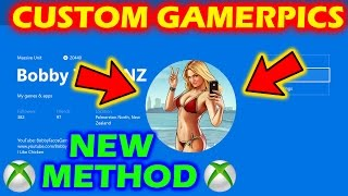 Download *NEW METHOD* XBOX ONE - HOW TO GET ANY CUSTOM GAMER PICTURE (WITHOUT INSIDER HUB) 2017 Video