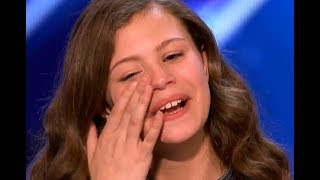 Download GOLDEN BUZZER - #1 The ″MOST EMOTIONAL″ 13 Yr Old Singing - Don't Cry! Video