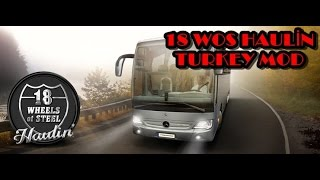 Download 18 Wos Haulin & Turkey Mod / İstanbul-Eskişehir... Video