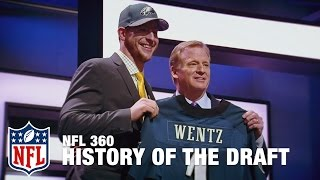 Download Love the Draft? Thank Philly | NFL Draft History in Philadelphia | NFL 360 Video