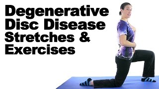 Download Degenerative Disc Disease (DDD) Stretches & Exercises - Ask Doctor Jo Video