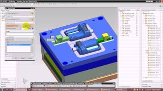 Download NX 8.5 - MOLD WIZARD - TOOLING MOTION SIMULATION Video