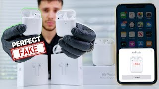 Download NEW Perfect Fake AirPods 2 Released! 1:1 supercopy Video
