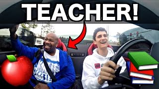 Download School Teacher Rides In My Lamborghini! Funny Reactions! Video