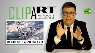 Download Death by Drone Swarm: Clipart with Boris Malagurski Video