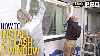 Download How To Install a Window | Lowe's Pro How-To Video