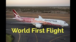 Download First Ever Non-Stop Dreamliner Perth to London Video
