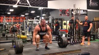 Download Eric Lilliebridge- Meet Prep Deadlift Training 881lbs/400kgs x 1 x 2 Video