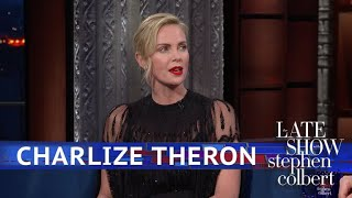 Download Charlize Theron: It's Not 'Brave' To Gain Weight For A Role Video