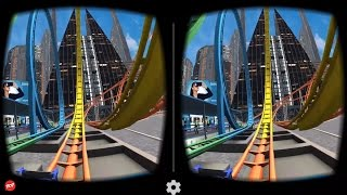 Download VR Roller Coaster - Best 3D SBS VR Roller Coaster for Google Cardboard Video