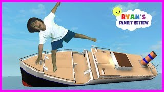 Download ROBLOX Sinking Ship! Let's Play Family Game Night with Ryan's Family Review Video
