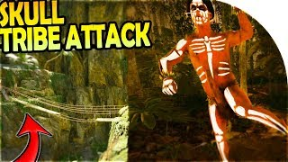 Download SKULL TRIBE ATTACK + Consequences... - THE ROPE BRIDGE ( Green Hell Gameplay Part 9 ) Video