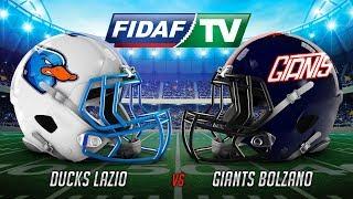 Download Ducks Lazio vs Giants Bolzano Video