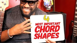 Download 4 MOST IMPORTANT BASS CHORD SHAPES | Online Bass Lessons w/ Daric Bennett Video