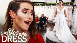 Download Biker Bride Wears Wedding Trousers Instead of a Wedding Dress! | Say Yes To The Dress Lancashire Video