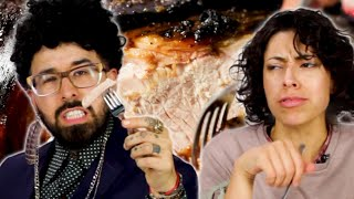 Download Latinos Try Pernil For The First Time Video