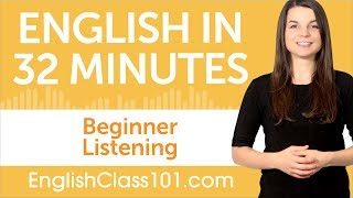 Download 32 Minutes of English Listening Practice for Beginners Video