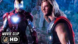 Download THE AVENGERS Clip - Thor vs Iron Man (2012) Marvel Video