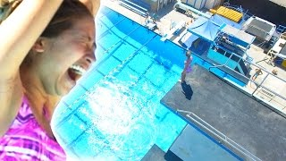 Download Regular People Get Tricked Into Olympic High Diving Video