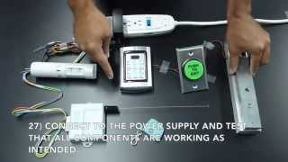 Download Magnetic Lock Kit Wiring Instructions Video