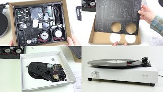 Download Assembling & Testing a Spinbox - The DIY Cardboard Box Record Player Video