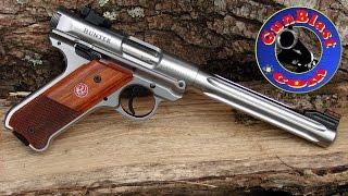 Download Shooting Ruger's New Mark IV Semi-Automatic 22 LR Pistol - Gunblast Video