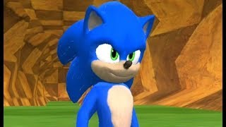 Download New Movie Sonic in Sonic World Video