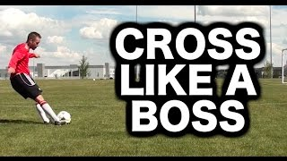Download How to cross a soccer ball or football ► Soccer tips for crossing with quality Video