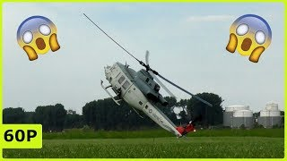 Download Heliday Duisburg 2018 - Almost Crash with a beautiful Huey Bell UH-1Y from Frank Wedekind Video