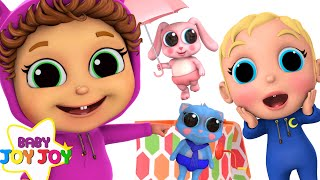 Download Pop Goes The Weasel | Baby Brother Adventure | Learn Colors Video