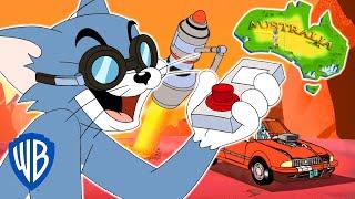 Download Tom & Jerry | Tom Cuts Australia in Half | WB Kids Video