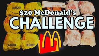 Download MCDONALD'S $20 VALUE MENU CHALLENGE!! Video