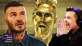 Download The David Beckham Statue Prank Video