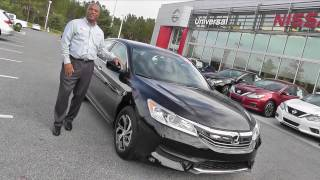 Download 2017 Honda Accord Sedan LX Review Video