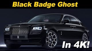 Download 2018 Rolls Royce Black Badge Ghost | First Drive Review in 4K UHD! Video