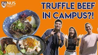 Download SEARCH FOR THE BEST UNI FOOD: NATIONAL UNIVERSITY OF SINGAPORE | TSL Vlogs Video