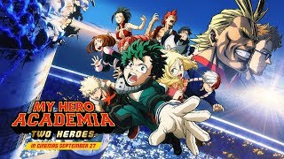 Download My Hero Academia: Two Heroes - Subtitled Trailer Video