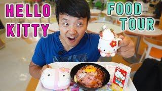 Download HELLO KITTY Food Tour of Sanrio Puroland in Tokyo Japan Video