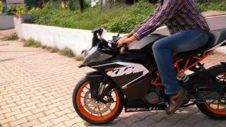 Download Taking Delivery of the KTM RC200-India Video