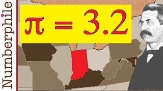 Download How Pi was nearly changed to 3.2 - Numberphile Video
