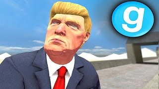 Download PRESIDENT DONALD TRUMP RULES THE BORDER!! Garry's Mod Roleplay (Gmod Mexican Border Patrol) Video