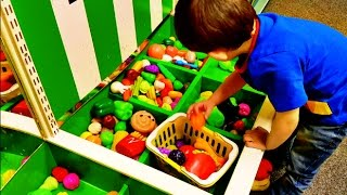 Download Shopping at Supermarket /Learn fruits & vegetables/Nursery Rhymes/Video for Kids/HD Video