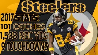 Download Antonio Brown's Best Highlights from the 2017 Season | NFL Video