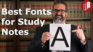 Download Best Fonts for Study Notes Video
