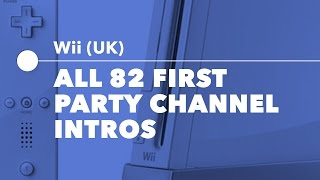 Download All 82 First Party Wii Channel Intros (PAL) Video