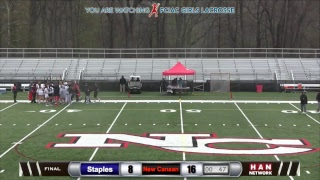 Download HAN Sports: Staples at New Canaan Girls Lacrosse 4.25.17 Video
