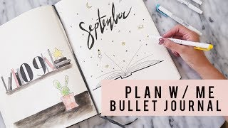 Download PLAN WITH ME | September 2017 | Bullet Journal | ANN LE Video
